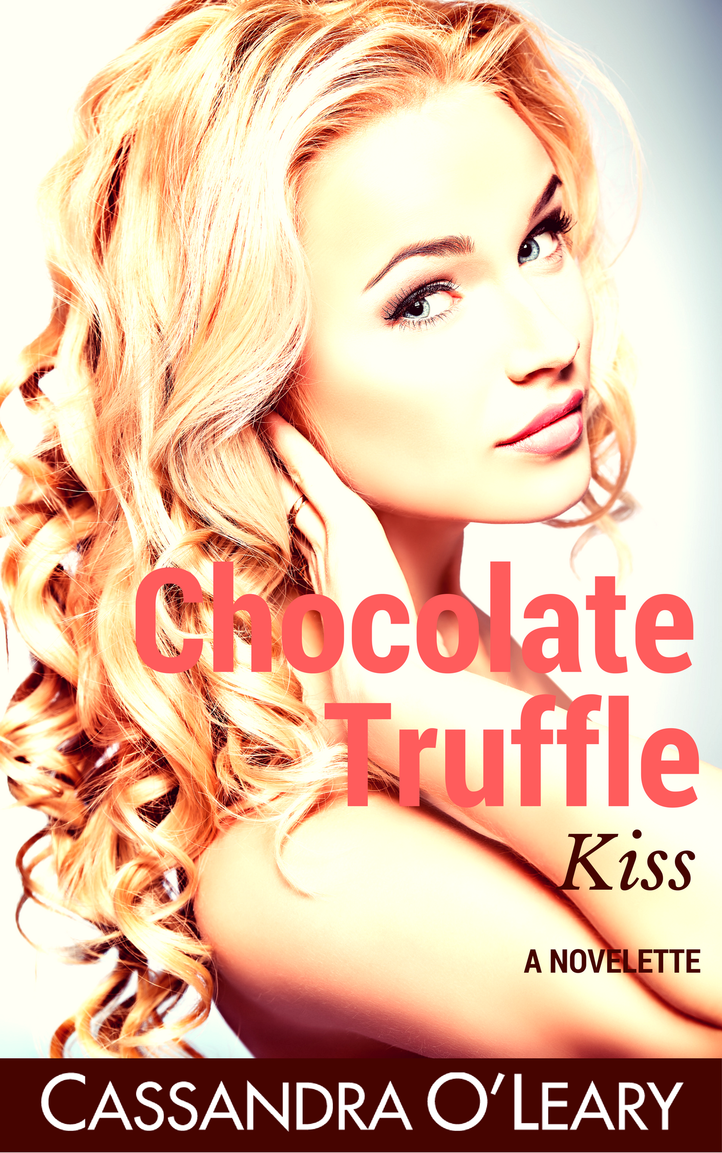 Chocolate Truffle Kiss cover design